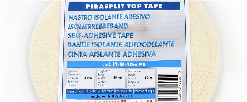 SELF-ADHESIVE PIRASPLIT TOP