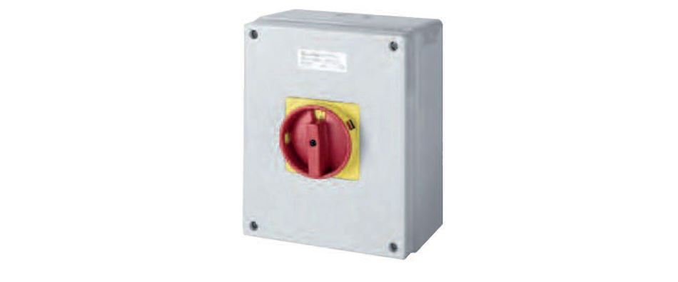 SAFETY SWITCHES RED/YELLOW KNOB